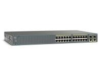 Коммутатор Cisco Systems Catalyst 2960Plus 24 10/100 PoE+2 T/SFP LAN Base, Russia