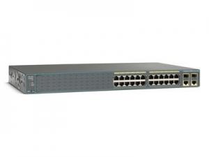 Коммутатор Cisco Catalyst 2960Plus 24 10/100 PoE+2 T/SFP LAN Base, Russia