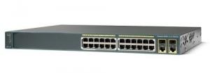 Коммутатор Cisco Catalyst 2960 Plus 24 10/100 PoE + 2 T/SFP LAN Lite, Russia