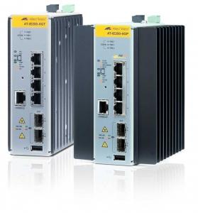 Коммутатор Allied Telesis Managed Industrial switch with 2 x 100/1000 SFP,  4 x 10/100TX POE+, no Wifi