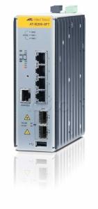 Коммутатор Allied Telesis Managed Industrial switch with 2 x 100/1000 SFP,  4 x 10/100TX, no Wifi