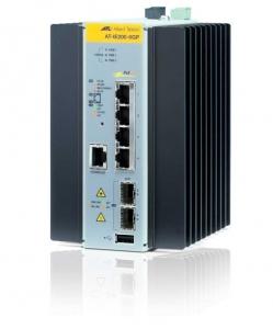 Коммутатор Allied Telesis Managed Industrial switch with 2 x 100/1000 SFP,  4 x 10/100/1000T POE+, no Wifi