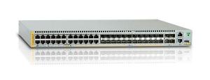 Коммутатор Allied Telesis 10/100/1000BASE-T ports x 24 (Combo) - SFP slot x 24 (Combo) - SFP/SFP+ slots x 4. Console port x 1 (RJ45) - Dual Power Supply slot - Dedicated Stacking port x 2 (Rear panel)