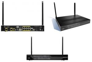 Cisco LTE 2.0 Secure IOS Gigabit Router SFP G.SHDSL (EFM/ATM) with Sierra Wireless MC7304/Qualcomm MDM9215 for Australia and Europe, LTE 800/900/1800/ 2100/2600 MHz, 850/900/1900/2100 MHz UMTS/HSPA+ bands