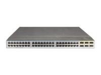 Коммутатор Huawei CE6850-48T6Q-HI Switch(48-Port 10GE RJ45,6-Port 40GE QSFP+,2*FAN Box,Port-side Exhaust,Without Power Module)