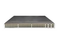 Коммутатор Huawei CE6850U-48S6Q-HI Switch(48-Port 10GE SFP+,support 2/4/8G FC,6-Port 40GE QSFP+,2*FAN Box,Port-side Intake,Without Power Module)