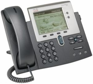Телефонный аппарат Cisco UC Phone 7942 with 1 CCME RTU License