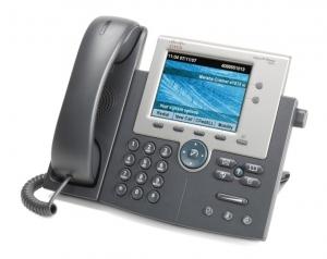 Телефонный аппарат Cisco UC Phone 7945, Gig Ethernet, Color, spare