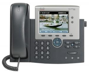 Телефонный аппарат Cisco UC Phone 7945, Gig, Color, with 1 CCME RTU License