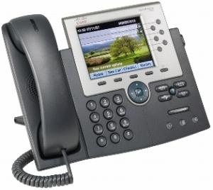 Телефонный аппарат Cisco UC Phone 7965, Gig Ethernet, Color, spare