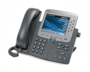 Телефонный аппарат Cisco UC Phone 7965, Gig, Color,  with 1 RTU License