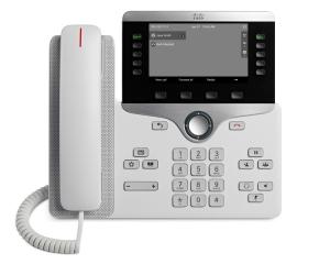 Телефонный аппарат Cisco IP Phone 8811 White