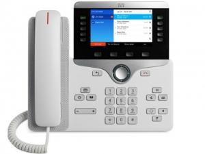 Телефонный аппарат Cisco IP Phone 8841 White