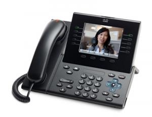 Телефонный аппарат Cisco UC Phone 9951, Charcoal, Arabic keypad, Std HS, Camera