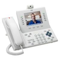 Телефонный аппарат Cisco UC Phone 9951, White, Arabic keypad, Std HS, Camera