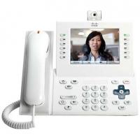 Телефонный аппарат Cisco UC Phone 9971, White, Arabic keypad, Std HS, Camera