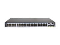 Коммутатор Huawei S5710-52C-EI Bundle(48 Ethernet 10/100/1000 ports,4 10 Gig SFP+,with 2 interface slots,with 150W AC power supply)