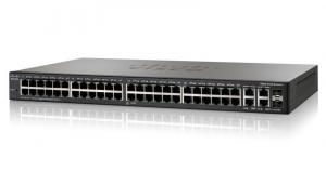 Коммутатор Cisco Systems SG 300-52P 52-port Gigabit PoE Managed Switch
