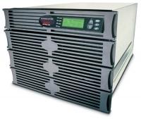 ИБП APC Symmetra RM 2.8kW/4kVA Expandable to 4.3kW/6kVA or N+2, Вх. 230V / Вых. 230V, (8)C13, (2)C19; DB-9 RS-232, RJ-45 10 Base-T ethernet for web/ SNMP/ Telnet man.,8 U