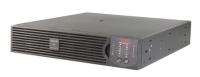 ИБП APC Smart-UPS RT RM 2000VA/1400W, 230V, Extended Runtime, Rack 2U (Tower convertible), user repl. batt.,SmartSlot, PowerChute, BLACK (SURT2000XLI + SURTRK)