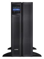 ИБП APC  Smart-UPS X  2700W/3000VA Rack/Tower LCD 200-240V with Network Card, (8) IEC 320 C13, (2) IEC 320 C19, 4U