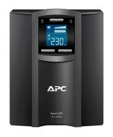 ИБП APC  Smart-UPS C 600W/1000VA LCD 230V,  (8) IEC 320 C13