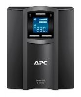 ИБП APC  Smart-UPS C  900W/1500VA LCD 230V, (8) IEC 320 C13