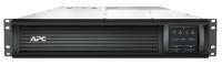 ИБП APC  Smart-UPS LCD 2700W / 3000VA, Interface Port RJ-45 Serial, SmartSlot, USB, RM 2U, 230V