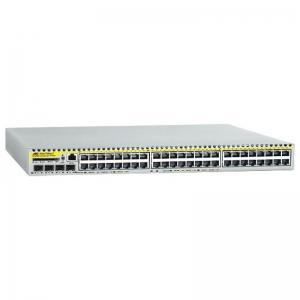 Коммутатор Allied Telesis MultiIayer IPv4 and IPv6 switch with 48 x 10/100BASE-T copper ports and 4 x 1000BASE-X SFP uplinks. DC PSU + NCB1