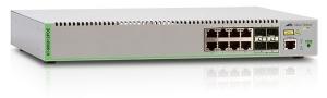 Коммутатор Allied Telesis Fully Managed L2, 8 x 10/100/1000T, 4 SFP, POE+