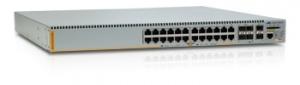 Коммутатор Allied Telesis 24 Port POE+ Gigabit Advanged Layer 3 Switch w/ 4 SFP & w/ 2 SFP+  + NCB1