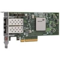 Адаптер HBA Qlogic 10Gb Single Port FCoE CNA, x8 PCIe, no transceivers installed