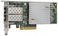 Адаптер HBA Qlogic 10Gb Dual Port FCoE CNA, x8 PCIe, no transceivers installed