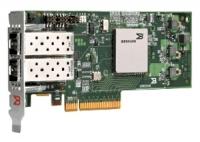 Адаптер HBA Qlogic 10Gb Dual Port FCoE CNA, x8 PCIe, SR optics