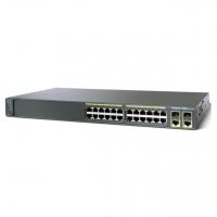Коммутатор Cisco Catalyst 2960 Plus 24 10/100+2 T/SFP LAN Lite,mfg in Russia