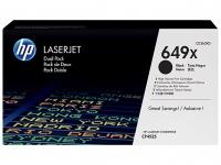 Тонер-картридж HP 649 Black Dual Pack для CLJ CP4525 (2х17000 стр)