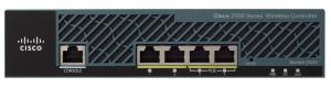 Контроллер беспроводных точек доступа Cisco 2504 Wireless Controller with 50 AP Licenses