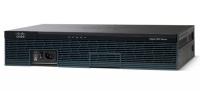 Cisco 2911 with 3 onboard GE, 4 EHWIC slots, 2 DSP slots, 1 ISM slot, 256MB CF default, 512MB DRAM default, IP Base