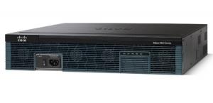 Cisco 2951 w/3 GE,4 EHWIC,3 DSP,2 SM,256MB CF,512MB DRAM+DC