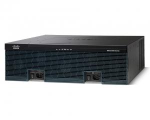 Cisco 3945 w/SPE150(3GE,4EHWIC,4DSP,4SM,256MBCF,1GBDRAM,IPB)