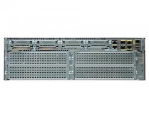 Cisco 3925 w/SPE100(3GE,4EHWIC,4DSP,2SM,256MBCF,1GBDRAM,IPB)