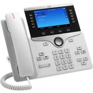 Телефонный аппарат Cisco IP Phone 8851 White