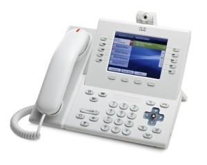 Телефонный аппарат Cisco UC Phone 9951, White, Slimline Handset