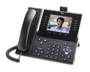 Телефонный аппарат Cisco UC Phone 9951, Charcoal, Std Hndst with Camera