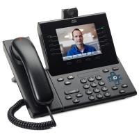 Телефонный аппарат Cisco UC Phone 9951, Charcoal, Slimline Handset