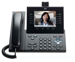 Телефонный аппарат Cisco UC Phone 9951, Charcoal, Slm Hndst with Camera
