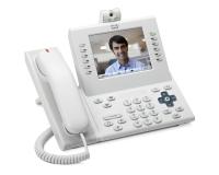 Телефонный аппарат Cisco UC Phone 9971, White, Standard Handset