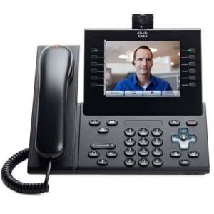 Телефонный аппарат Cisco UC Phone 9971, Charcoal, Slimline Handset