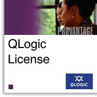 Лицензия Qlogic (4) port upgrade software license key for SANbox 5600Q, 5600, and 5600-E switch.