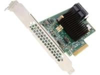 Интерфейсы: 8x SAS 12Gb/s или SATA 6Gb/s , Внутренние: 2x SFF-8643 , RAID-Level: 0/1/5/10/50 , Набор микросхем:  SAS 3008, 1.20GHz , Специальные: низкий профиль, Комплектация с кабелем